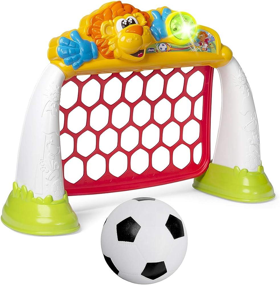Chicco gioco porta calcio goal league pro elettronica, 2 5 anni 00009838000000
