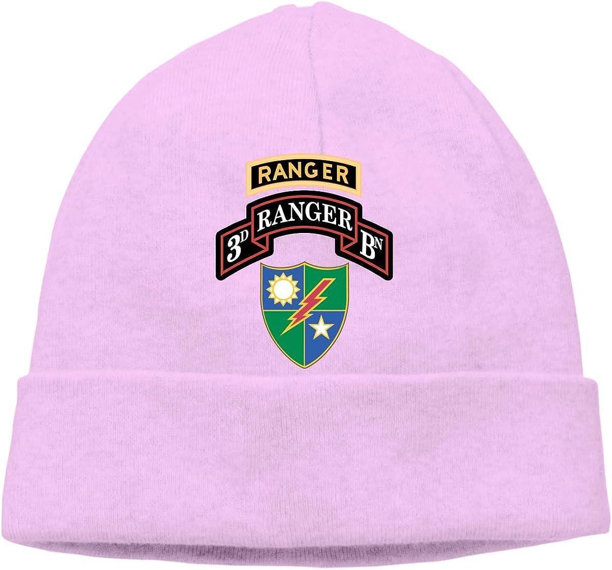 75th Ranger Regiment with Ranger Unisex Knitted Beanie Beanie Hat Skull Cap Knit Hat CHUANtaotou 3rd Battalion