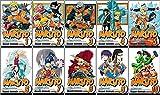 Naruto Manga Set, Vol. 1-10