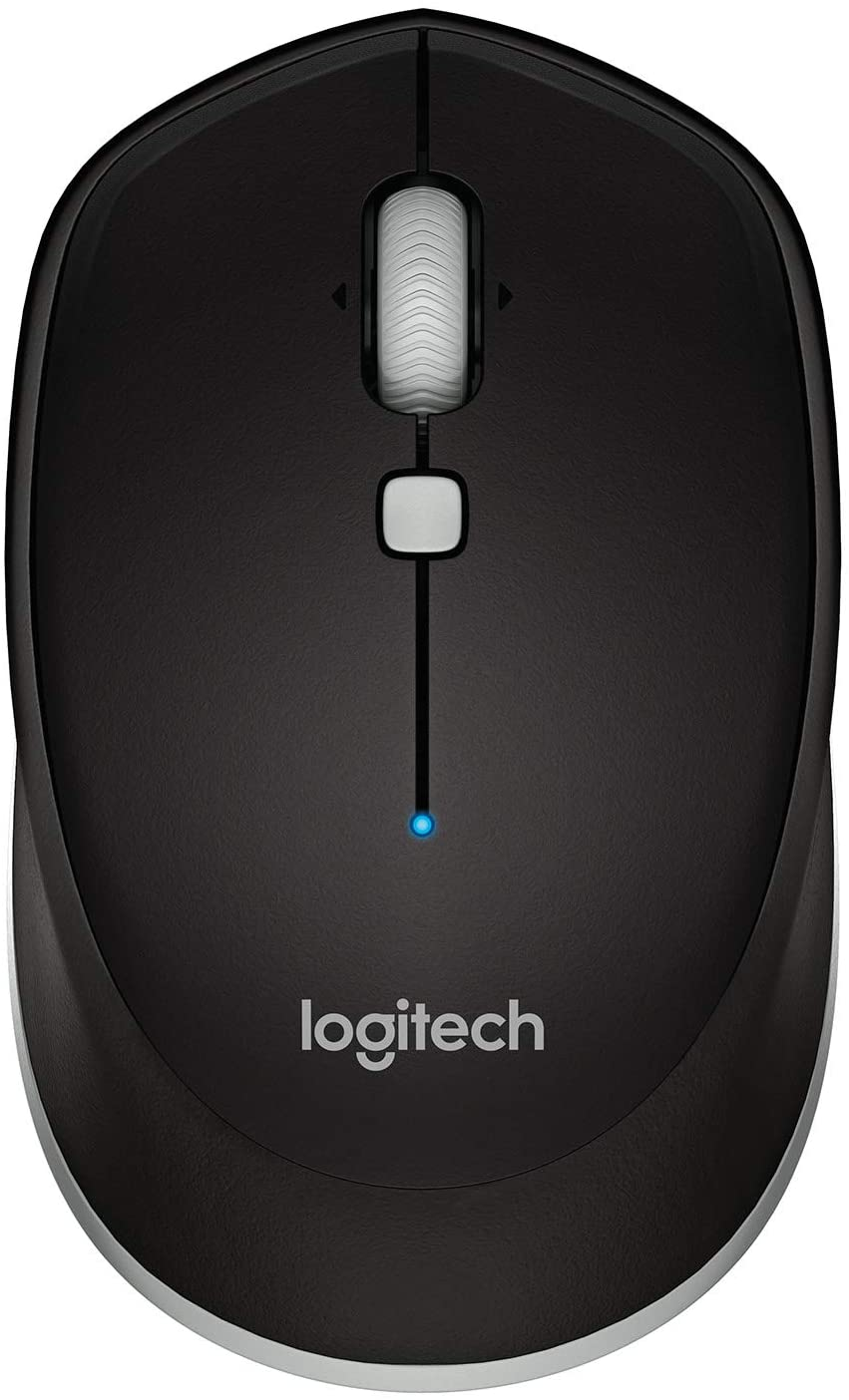 Logitech M535 Bluetooth Mouse Compact Wireless Mouse with 10 Month Battery Life Works with Any Bluetooth Enabled Computer, Laptop or Tablet Running Windows, Mac OS, Chrome or Android, Gray - Black