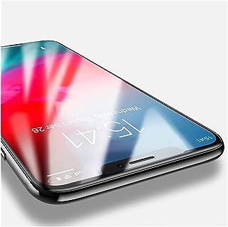 واقي شاشة Compatible with Apple iPhone XR Full HD Tempered Glass Film Screen Protector Protective glue 3D Full Cover Scree...