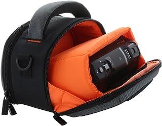 Smart- Planet Premium Bolsa Duro de la videocámara con Correa para el Hombro y la Correa de muñeca para Panasonic HC-V180 V777 - Sony HDR CX450 CX625 CX240E etc.