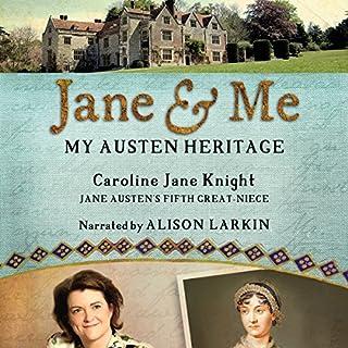 Jane & Me: My Austen Heritage audiobook cover art