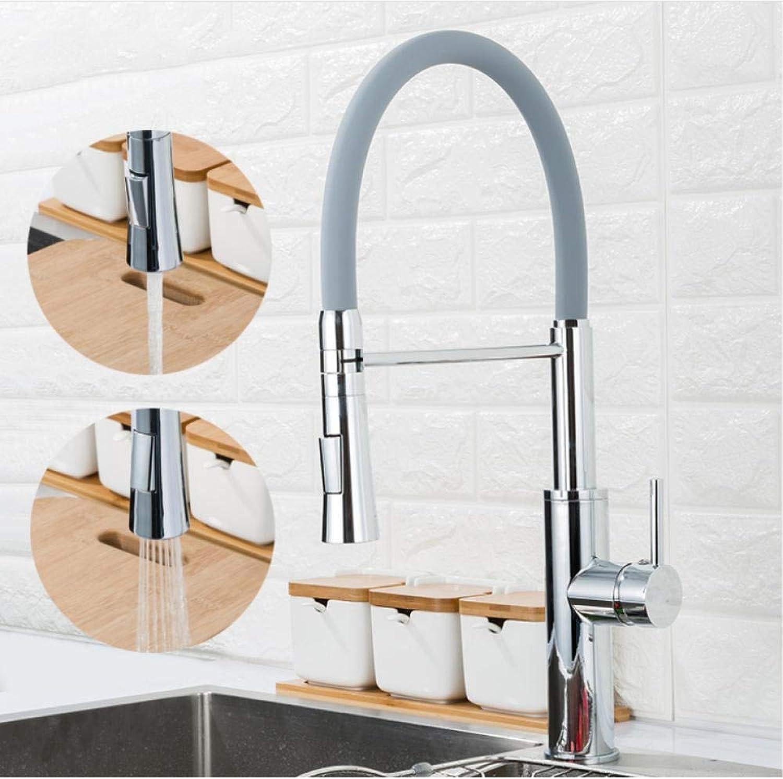 Küchenarmaturen An Deck montierte Warm- und Kaltwasser-Mischbatterien für Küchenarmaturen mit Kran-2-Funktion