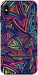 Macmerise IPCIXMTMI1440 Neon Angles - Tough Case for iPhone XS Max - Multicolor (Pack of1)