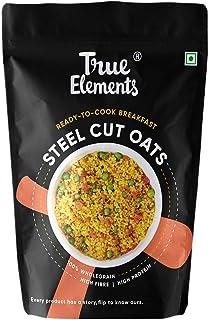 True Elements Gluten Free Steel Cut Oats for Weight Loss 500 gm