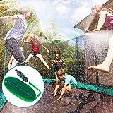 49ft Trampolin Wassersprinkler, Outdoor Misting System Bewässerungssystem Automatischem...
