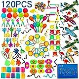 nicknack Surtido de 120 juguetes para rellenar piñatas y bolsas de regalo de fiestas de cumpleaños infantiles o para el colegio