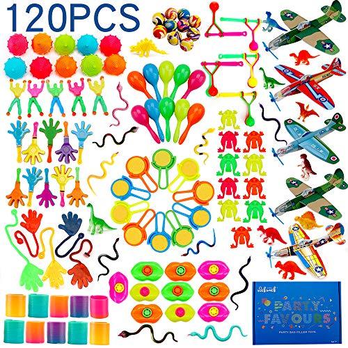 nicknack Surtido de 120 juguetes para rellenar piñatas y
