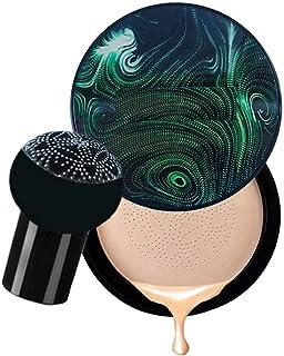 THR3E STROKES CC Cream For Face Makeup Air CUSHION CC CREAM MUSHROOM HEAD FOUNDATION WITH WATERPROOF FORMULA. 20G
