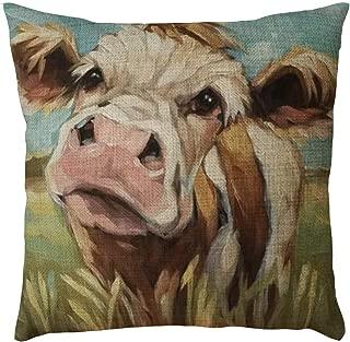 iYBUIA 3D Cartoon Animal Pattern Pillowcase Pillow Case Cushion Cover Sofa Home Car Decor