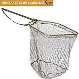 Savage Gear Full Frame Rubber mesh Landing Net XL 70x85cm - Kescher zum Hechtangeln,...