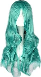COSPLAZA Cosplay Wigs 65cm long wavy Green/Blue Fashion Women Party Club Dancing Party Anime Hair Green