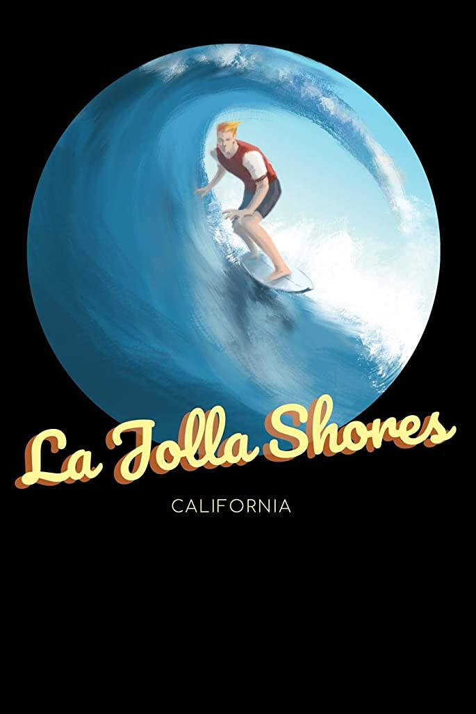 輸送乞食免疫La Jolla Shores California: Surfing Journal - Schedule Organizer Travel Diary - 6