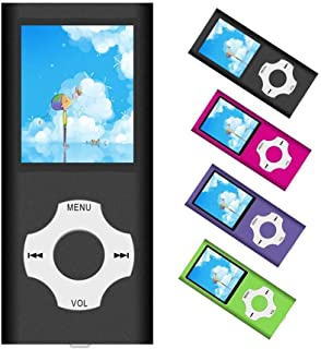 MP3 Player / MP4 Player, Portable Music Player with a 32GB TF Card with Music/Video/Voice Record/FM Radio/E-Book Reader/Ph...