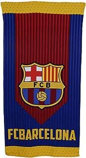 FC Barcelona Toalla Microfibra FCB165, 70 X 140 cm, Azulgrana