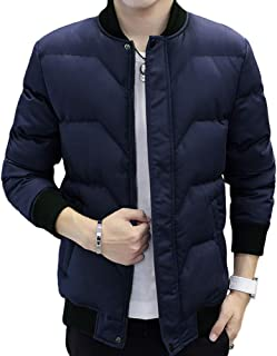 Jomiss 中綿ジャケット メンズ コート アウター ジャンパー 無地 撥水 防寒 防風トップス 秋 冬 春