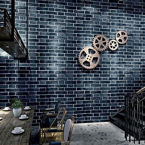 Brick wallpaper_brick roter Backstein Cafe roter Backstein Tapete [Supreme Edition] Stoß tief geprägte dicke Version nur Tapete