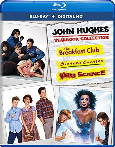 John Hughes Yearbook Collection (The Breakfast Club / Sixteen Candles / Weird Science) (Blu-ray + Digital HD)