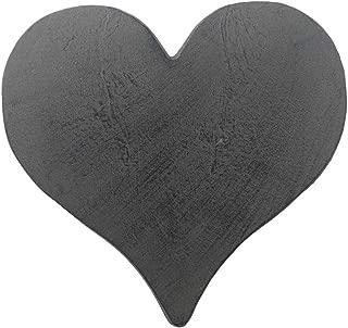 Comfy Hour Cast Iron Garden Stepping Stone - Heart