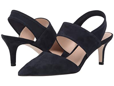 Pelle Moda Keys (Midnight Suede/Mesh) Women