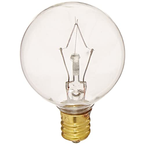 Bulbrite 40G12CL 40W G12 Globe 130V Light Bulb, Clear