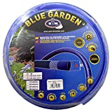 S&M 553110 Manguera De Jardinería Reforzada, Azul, 19...