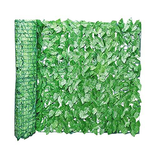 Artificiali Recinzione di Foglie di Edera Finta, Recinzione per La Privacy di Edera Finta Artificiale da 0.5x1m, Schermo A Parete per Recinzione per Arredamento Esterno, Giardino
