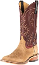 Anderson Bean Womens Ride Ready Beeswax Mesquite Reverse Roughout Cowgirl Boots