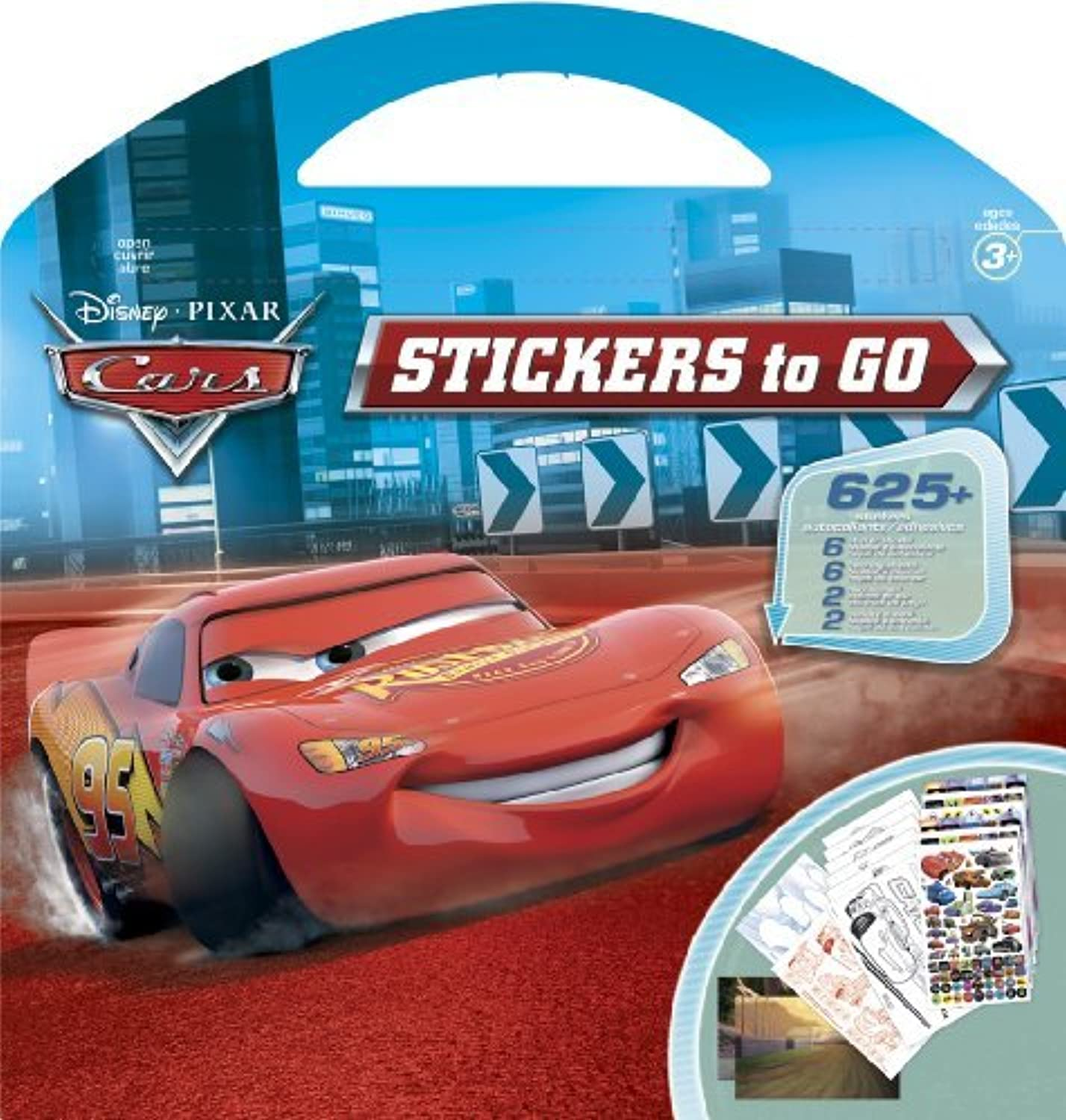 Cars Stickers to Go by Sandylion B01KBBGSEY | | | Guter weltweiter Ruf  e1b921