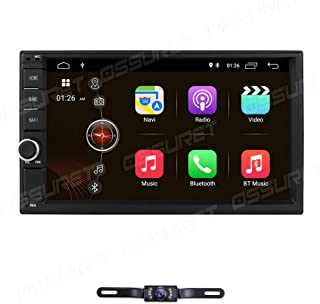 hizpo Double Din Car Stereo Android 10 in Dash 7 Inch Touch Screen Car Radio GPS Navigation Support for Steering Wheel Con...