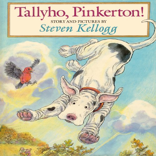 Tallyho, Pinkerton  audiobook cover art