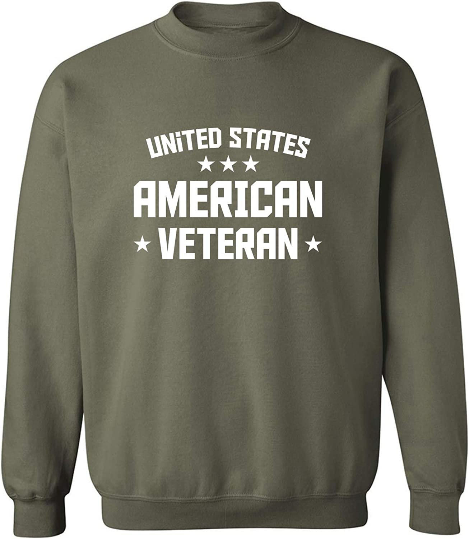 United States American Veteran Crewneck Sweatshirt