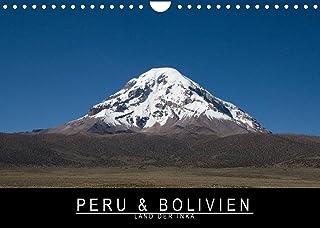 Peru & Bolivien - Land der Inka (Wandkalender 2022 DIN A4 quer): Ursprünglichkeit und Schönheit der Anden (Monatskalender,...