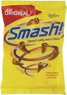 12 Bags x 100g of Nidar Smash - Original - Norwegian - Snacks - Milk Chocolate - Candies - Sweets