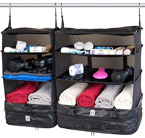 Xcase Koffertasche: XL- und XXL-Koffer-Organizer, Packwürfel zum Aufhängen (Hängeorganizer)
