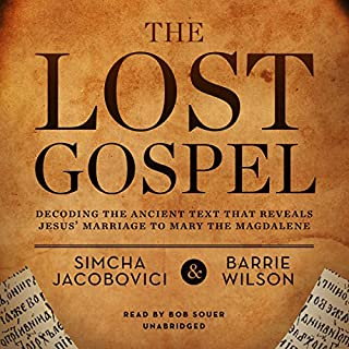 The Lost Gospel audiobook cover art