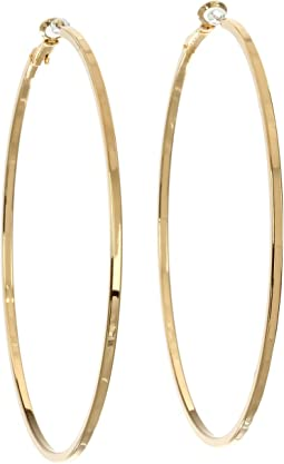 GUESS - Square Edge Hoop