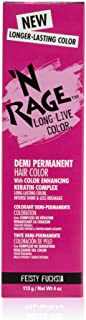 N Rage Demi Permanente Hair Color, Feisty Fuchsia