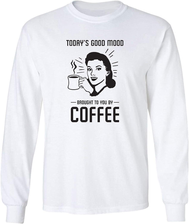 Today's Good Mood.Coffee Adult Long Sleeve T-Shirt