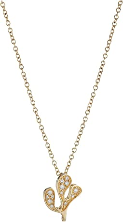 Miseno - Foglia Di Mare Diamond Pendant Necklace