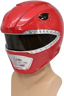 Xcoser Power Rangers Helmet Deluxe Red Resin Halloween Cosplay Costume for Sale