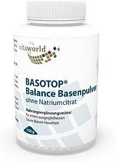 Basotop Polvo Alcalinizante Mineral 750g, Sin Citrato de
