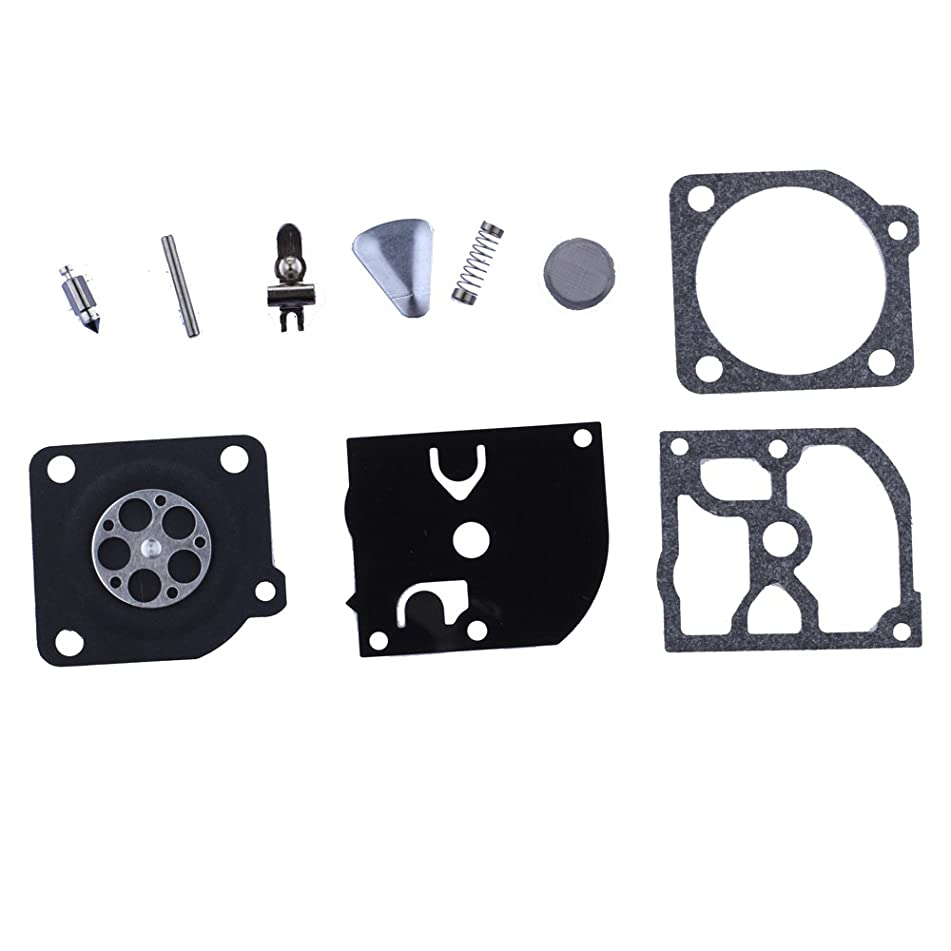 HIPA 503283105 Carburetor Repair Kits Gasket for Husqvarna 51 51EPA 55 55EPA 55EU1 Rancher Chainsaw C1Q-EL6 C1Q-EL7