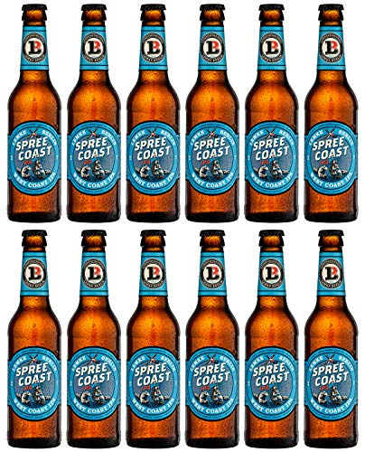 LEMKE Berlin Spree Coast IPA | West Coast IPA, West Coast India Pale Ale Craft Beer (12 x 0,33l)