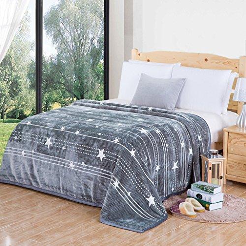 Couvertures Chaude de lit de Chambre à Coucher de Polyester de Douille Chaude de de lit de de Loisirs de Quatre Saisons: 220 * 240cm