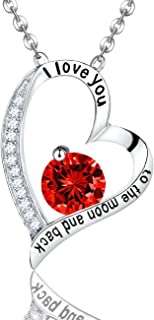 Best ruby birthstone jewelry Reviews