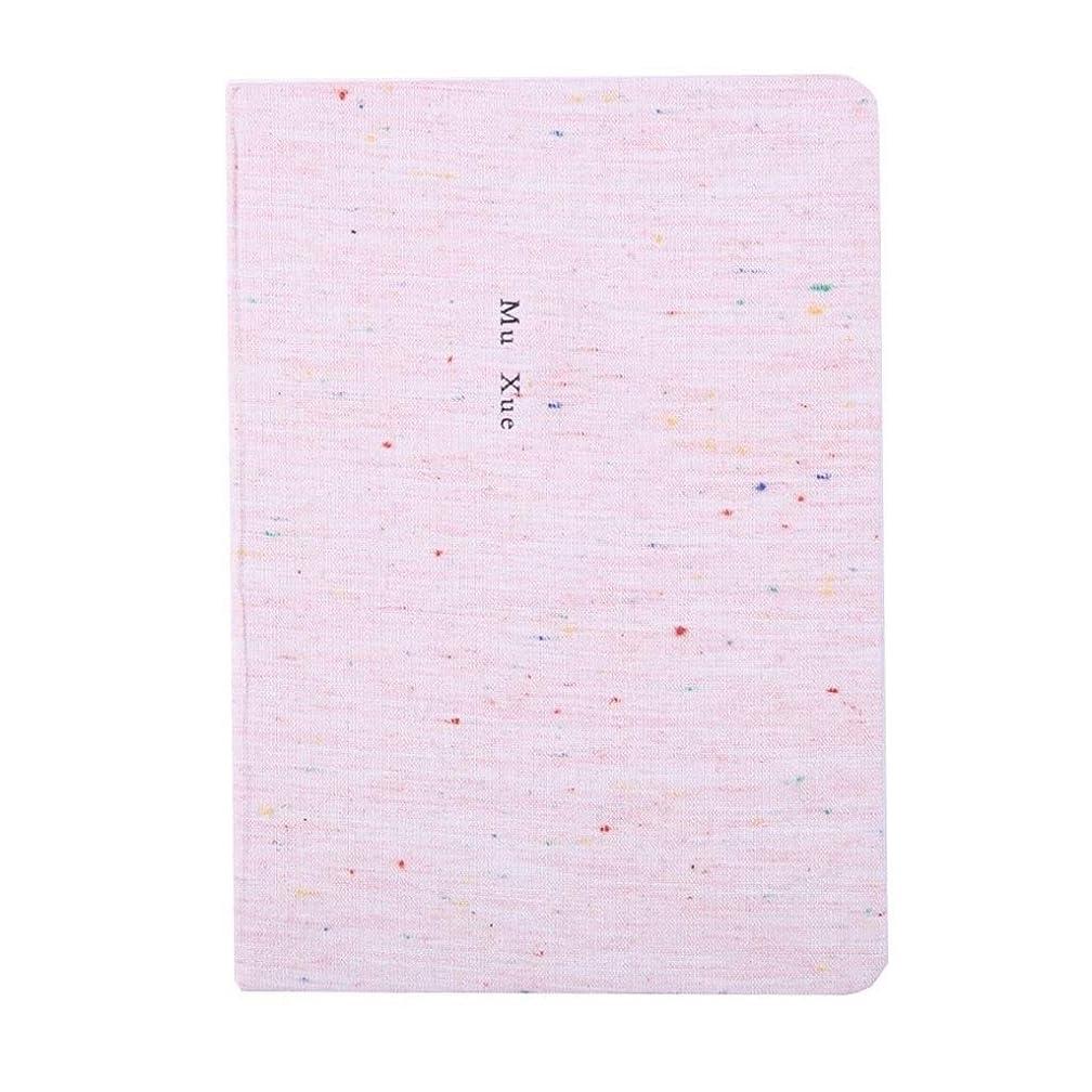 ノート シンプルなハンドブック空白厚い日記ノートブック布小さな新鮮な学生のメモ帳ノートブック メモ帳日記帳ノート (Color : A)