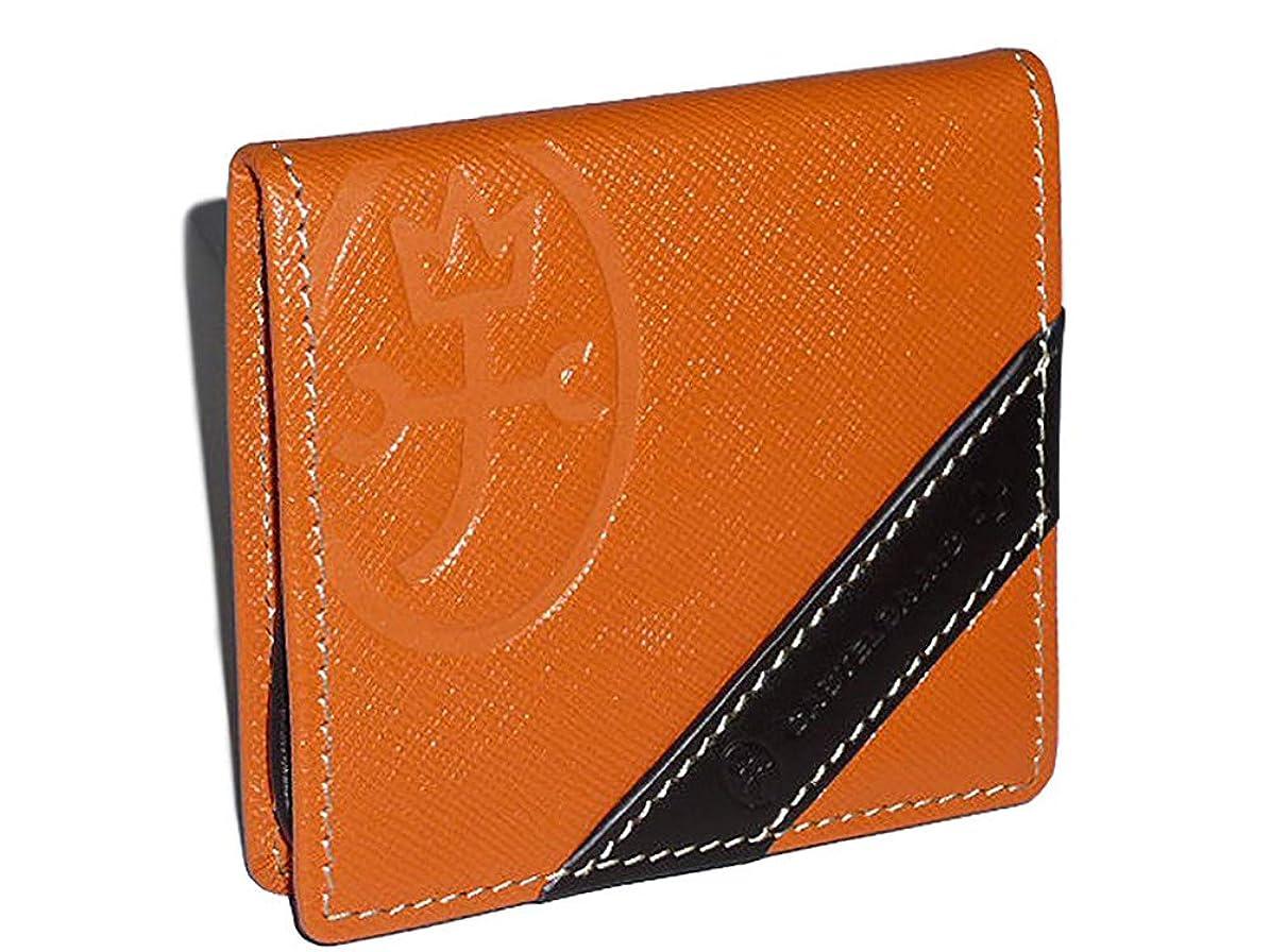 回復するジョブパーセントva-71610_ike CASTELBAJAC(カステルバジャック) 71610 ドロワット小物シリーズ ボックス型 小銭入れ メンズ 紳士 ビジネス 本革 財布 No.71610 26 Orange(オレンジ)