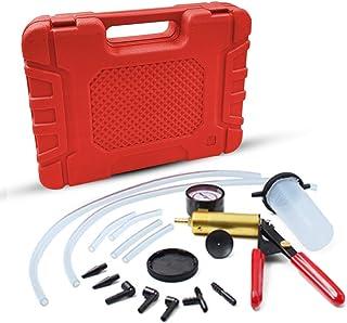 HTOMT 2 in 1 Brake Bleeder Kit Hand held Vacuum Pump Test Set for Automotive with Sponge...
